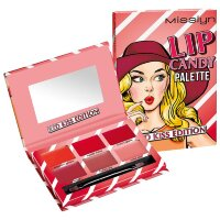 Misslyn (Мисслин)  Festival Vibes Lip Candy Palette, Nr. 1 Red Kiss / 13,34 g