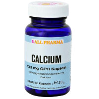 GALL PHARMA Calcium 133 mg GPH Капсулы, 60 шт