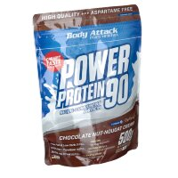 Body (Боди) Attack Power Protein 90 Chocolate Nut-Nougat Cream 500 г