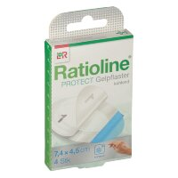 Ratioline (Ратиолайн) Protect Gelpflaster 4 шт