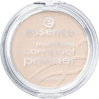Essence (Эссенс) Puder & Rouge Mattifying Compact Powder Пудра для лица, Nr. 10 Light Beige / 12 g
