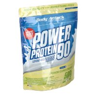 Body (Боди) Attack Power Protein 90 Lemon Curd Cream 500 г