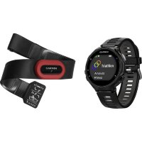 GPS heart rate monitor Монитор сердечного ритма watch with chest strap Garmin Forerunner 735XT Bluetoot