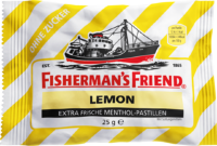 Fisherman's Friend Lemon без сахара, 25 г Пастилки с Лимоном 1 шт.