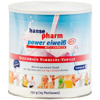 Hansepharm (Хансефарм) Power Eiweiss Plus Himbeere-Vanille 750 г