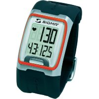 heart rate monitor Монитор сердечного ритма watch with chest strap Sigma PC 3.11 Orange