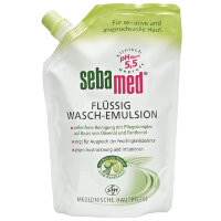 sebamed (себамед) Flussig Wasch-Emulsion Olive Nachfullbeutel 400 мл