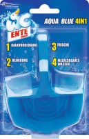 WC-Ente Aqua Blue 4in1 Оригинал	ьный, 1 шт