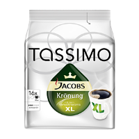 Jacobs Tassimo Kronung XL 144г, 16 штук