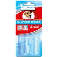 bogadent (богадент) Silicon Finger fur Hunde 2 шт