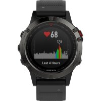 GPS heat rate monitor watch with built-in sensor Garmin fenix 5 Bluetooth