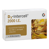 D3-INTERCELL (Д3-ИНТЕРСЕЛЛ) 2.000 I.E. Kapseln 90 шт