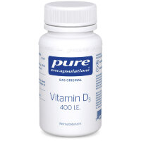 pure (пьюр) encapsulations Vitamin D3 400 I.E. 120 шт