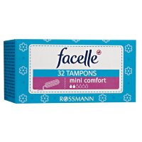 facelle Tampons mini comfort Тампоны мини-комфорт экстра мягкое покрытие 32 шт.