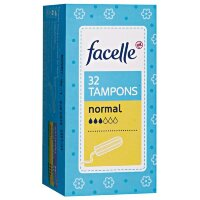facelle Tampons normal Тампоны нормал экстра мягкое покрытие 32 шт.