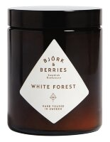 Bjork & Berries White Forest Scented Candle, Комнатная свеча 150 г