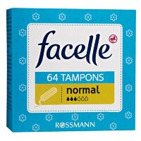 facelle Tampons normal Тампоны нормал экстра мягкое покрытие  64 шт.