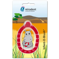 miradent (мирадент) Infant-O-Brush Lernzahnburste rot 1 шт