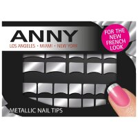 Anny Metallic Nail Tips Nagelsticker Nageldesign, 1 шт.
