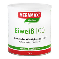MEGAMAX (МЕГАМАКС) Nutrition Eiweiss 100 Vanille-Geschmack 750 г