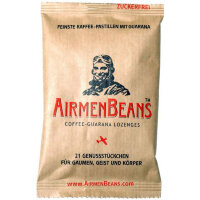 Airmenbeans (Аирменбинс) Kaffee-Guarana Pastillen 21 шт