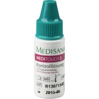 Blood glucose control solution Medisana MediTouch 2 Kontrolllosung